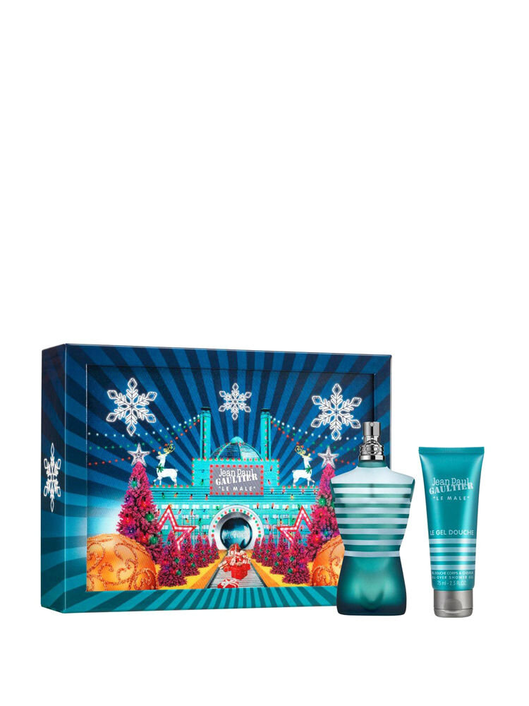 Set cadou Le Male ( Apa de Toaleta 125 ml + Gel de dus 75 ml), Pentru Barbati