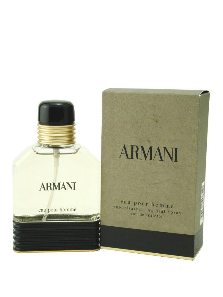 Apa de toaleta Armani Pour Homme, 50 ml, Pentru Barbati