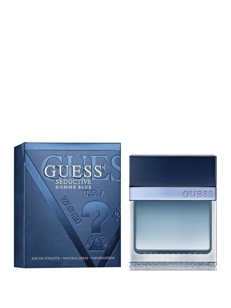 Apa de toaleta Guess Seductive homme blue, 50 ml, Pentru Barbati