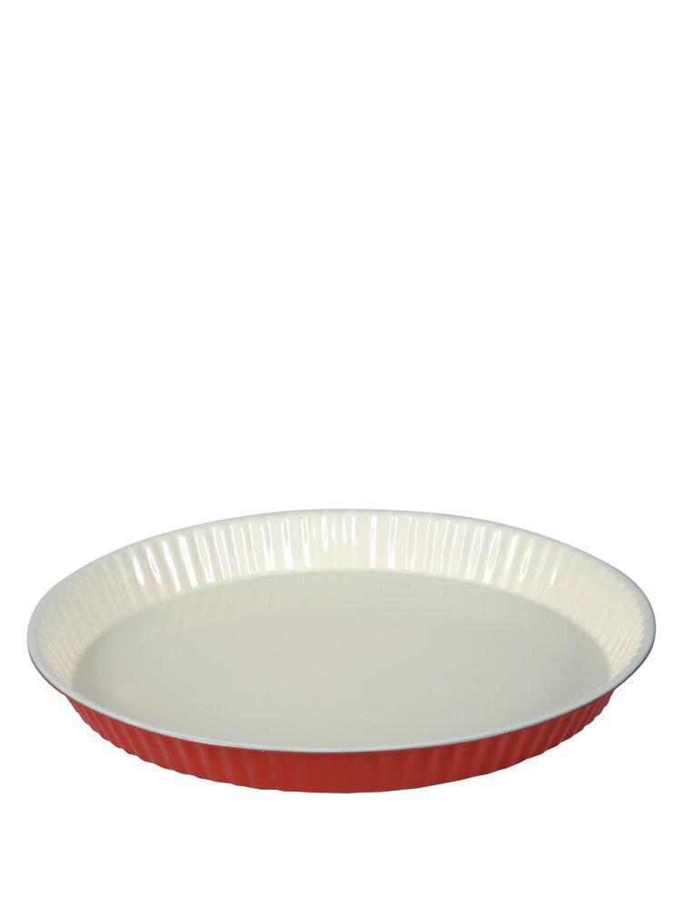 Forma Tarta Cu Invelis Ceramic 31cm Rosu Fushion Fresh Red