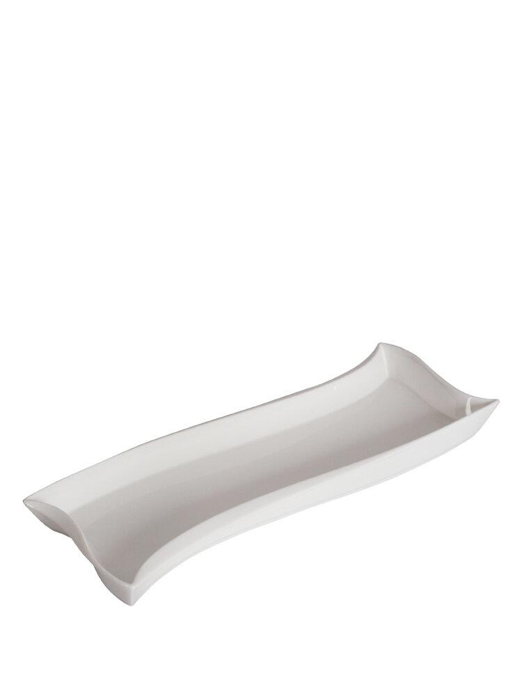 Platou servire Ambition, 33939, 26X10 cm, alb
