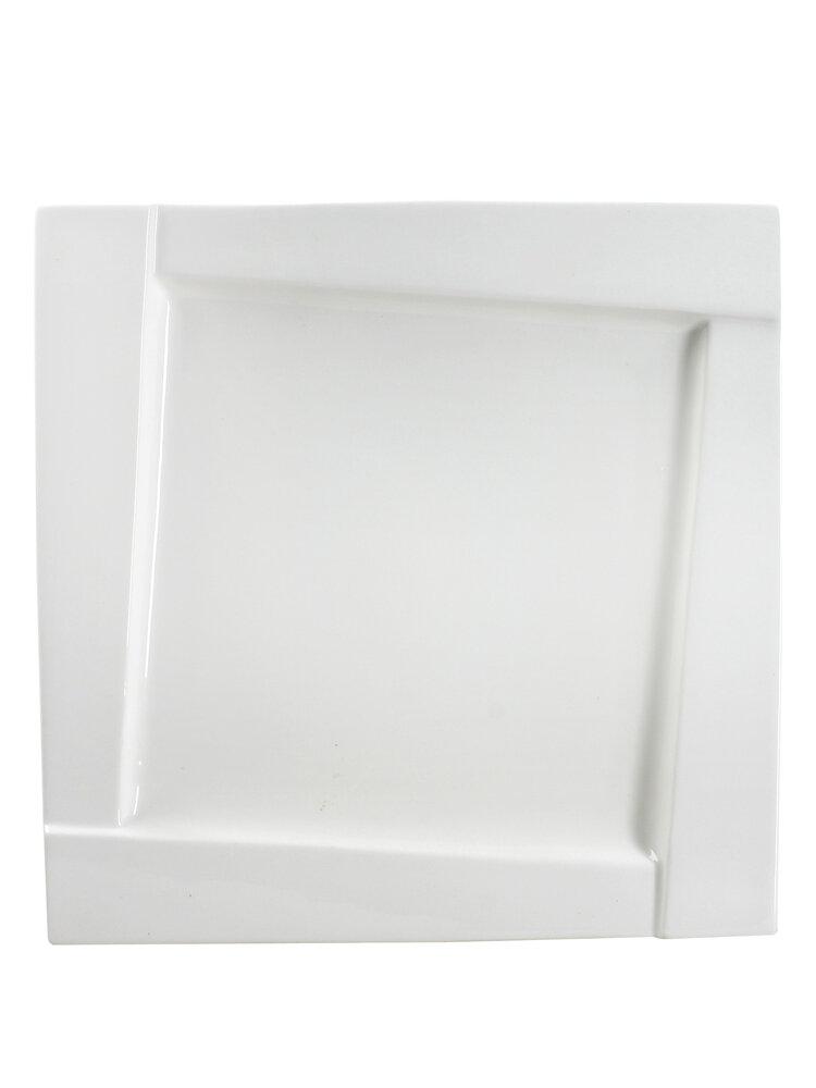 Farfurie din portelan - Kubiko, 25 cm title=Farfurie din portelan - Kubiko, 25 cm