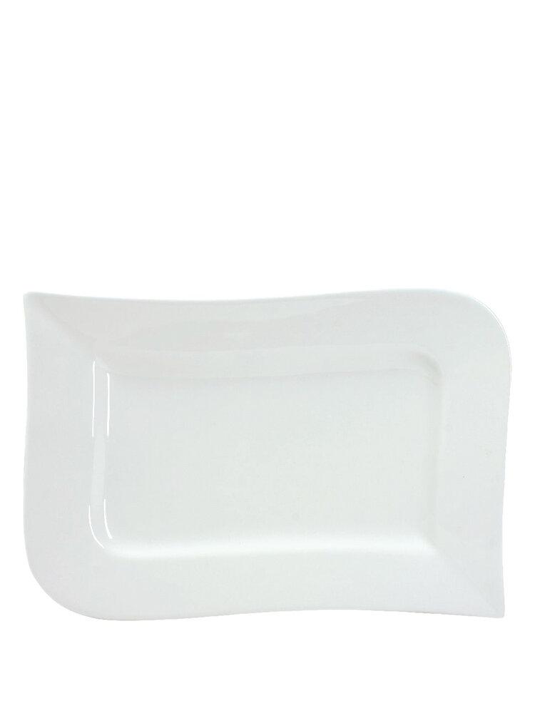 Platou din portelan - Fala, 41 x 25,5 cm title=Platou din portelan - Fala, 41 x 25,5 cm