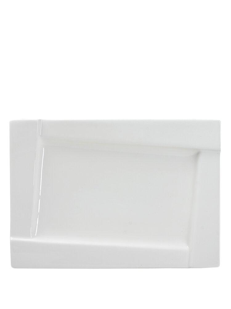 Platou din portelan - Kubiko, 35,5 x 25 cm title=Platou din portelan - Kubiko, 35,5 x 25 cm