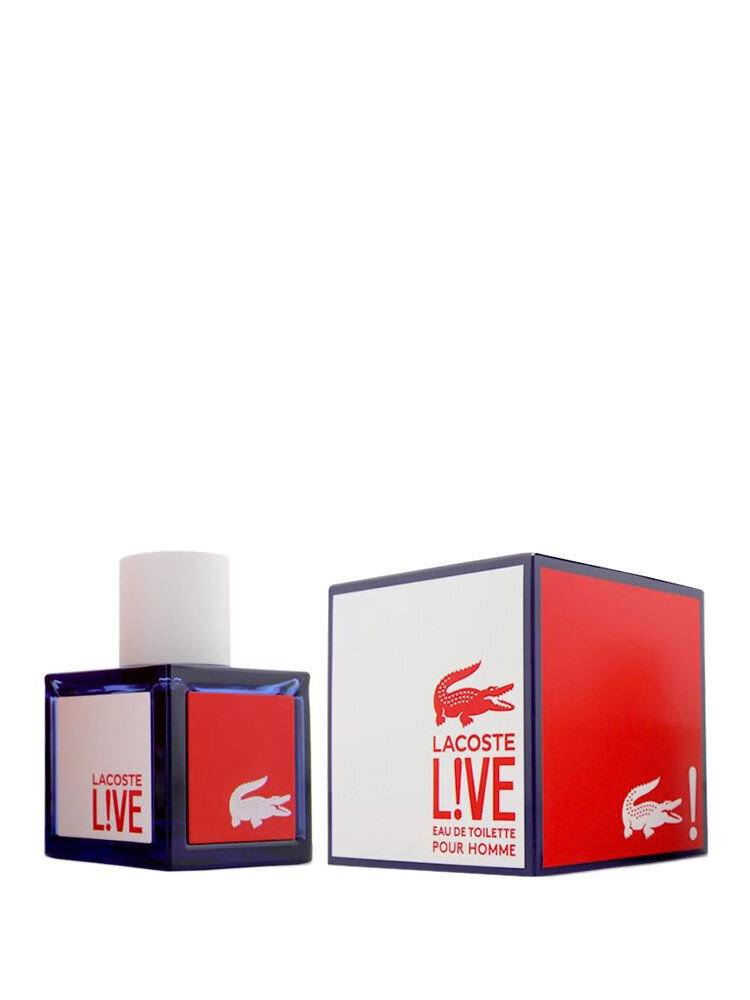 Apa de toaleta Live, 100 ml, Pentru Barbati