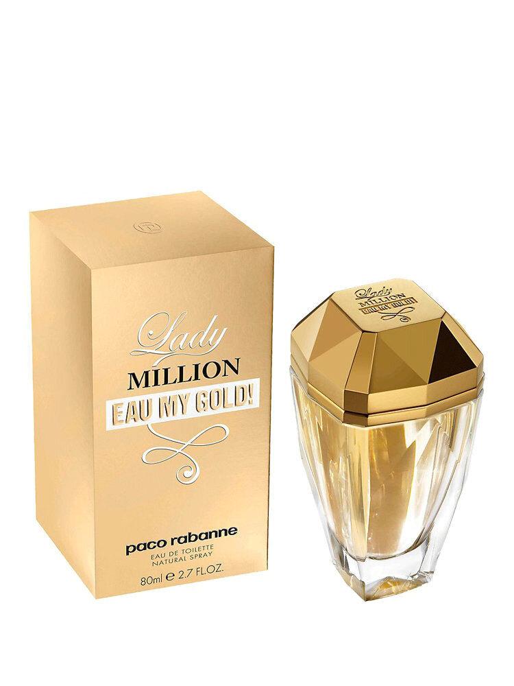 Apa de toaleta Lady Million Eau My Gold!, 80 ml, Pentru Femei