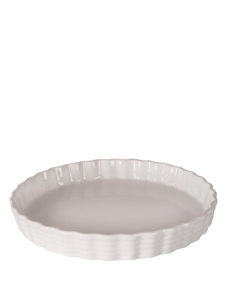 Forma din portelan, pentru tarte - Valerie, 27,5 cm title=Forma din portelan, pentru tarte - Valerie, 27,5 cm