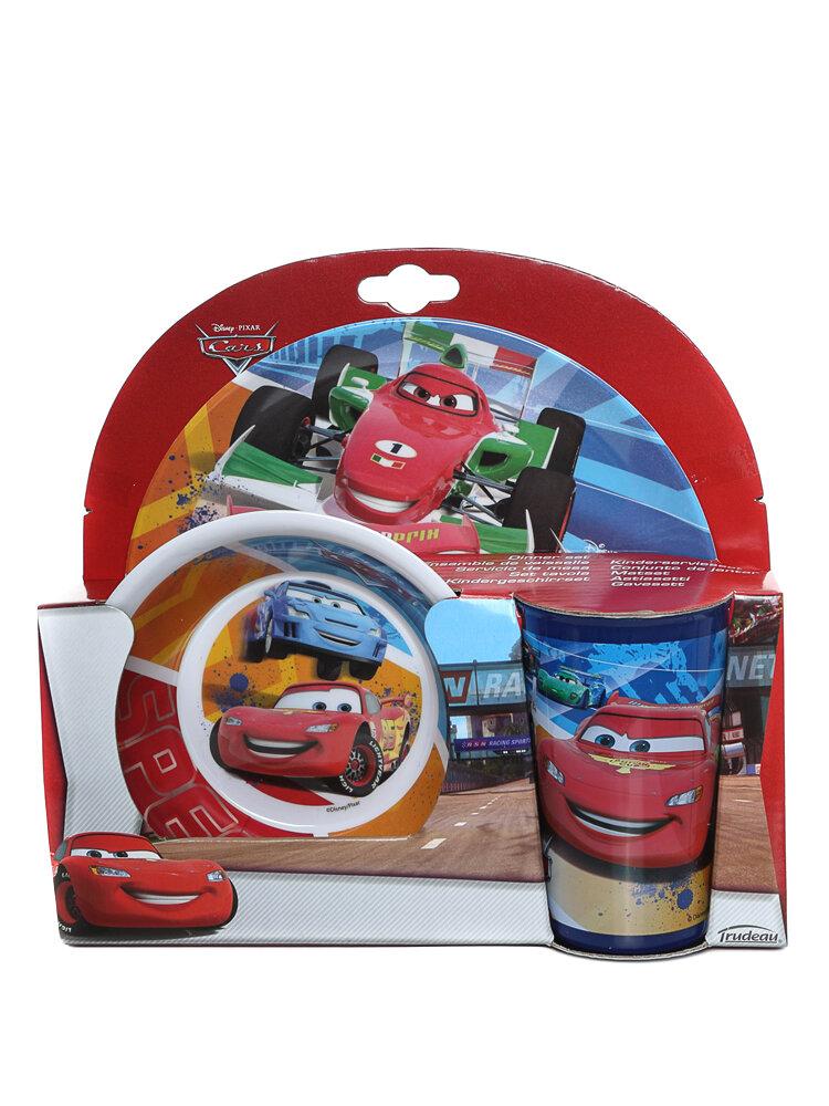 Set mic dejun, 3 piese - Cars Raceaway