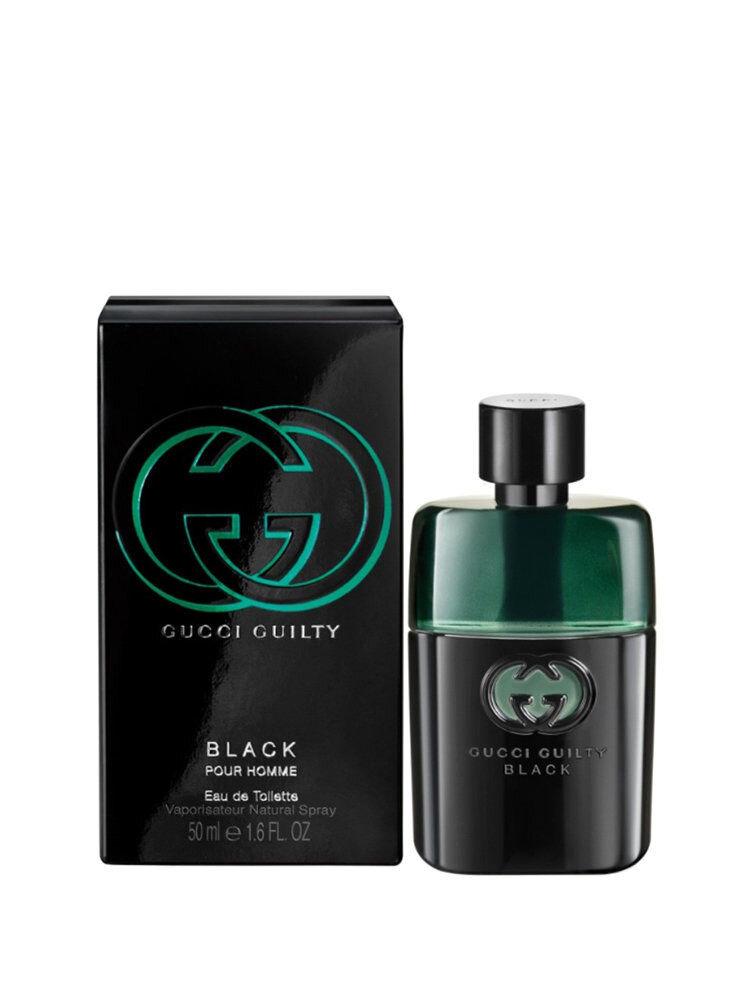 Apa de toaleta Guilty Black, 50 ml, Pentru Barbati