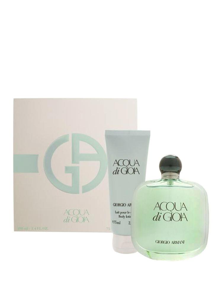 Set cadou Acqua di Gioia (Apa de Parfum 100 ml + Lotiune de corp 75 ml), Pentru Femei