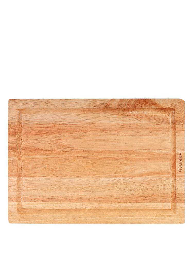 Tocator din lemn, 35 x 25 x 1,8 cm