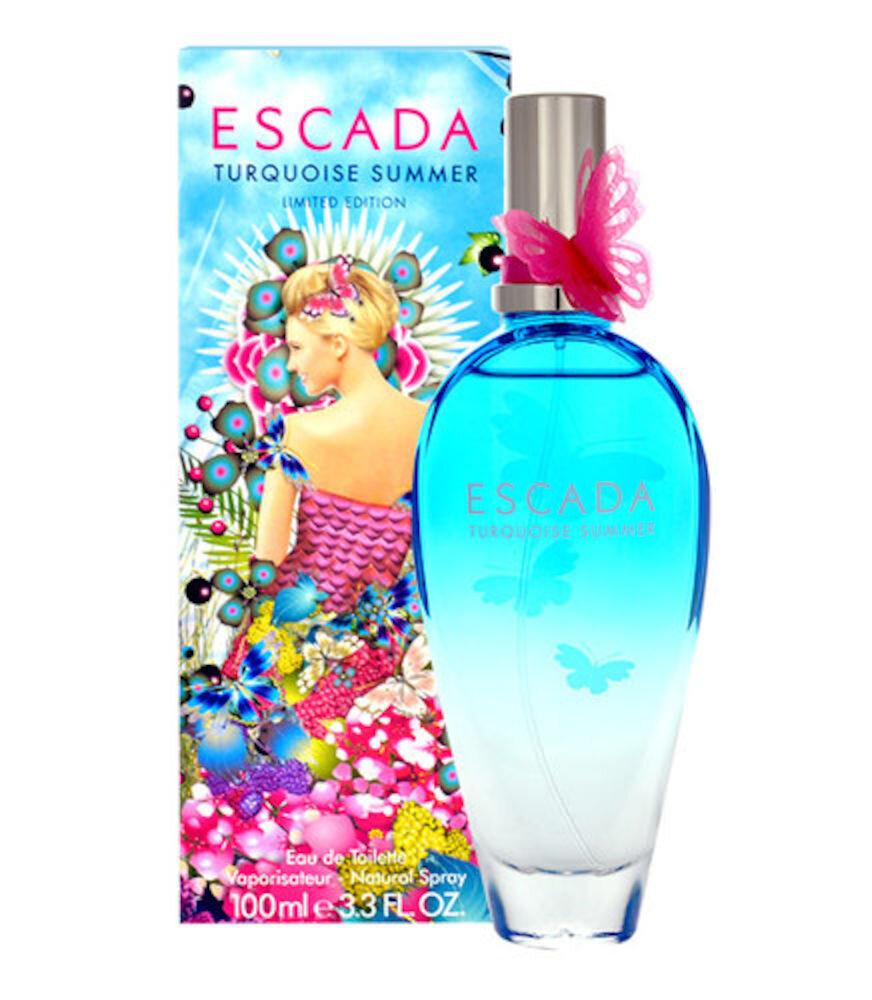 Apa de toaleta Turquoise Summer, 50 ml, Pentru Femei