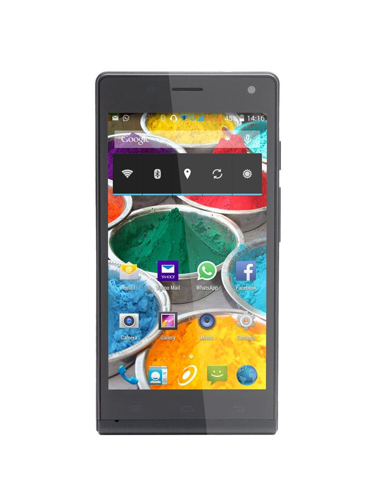 Smartphone E-boda Storm V510, Dual SIM, 4GB, 3G, Black