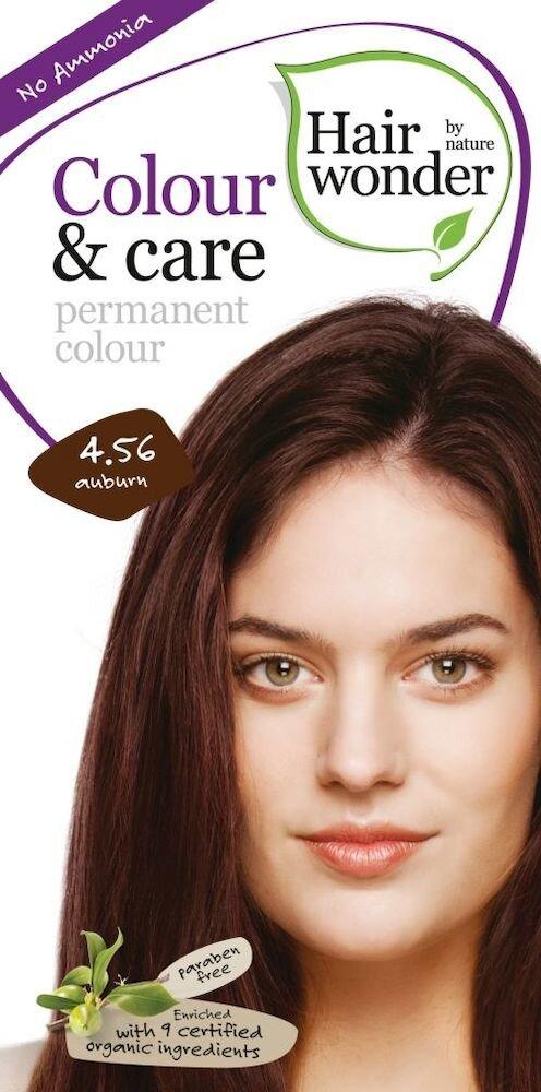 Vopsea par naturala, Colour & Care, Auburn 4.56