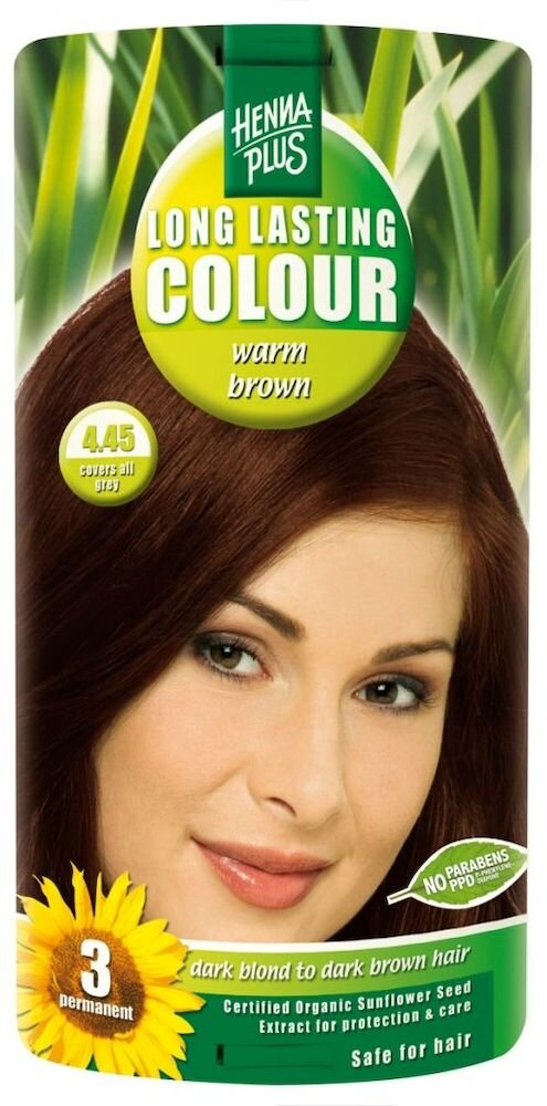 Vopsea par, Long Lasting Colour, Warm Brown 4.45