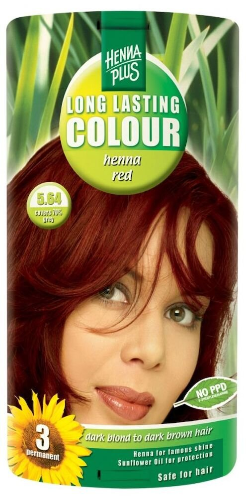 Vopsea par, Long Lasting Colour, Henna Red 5.64