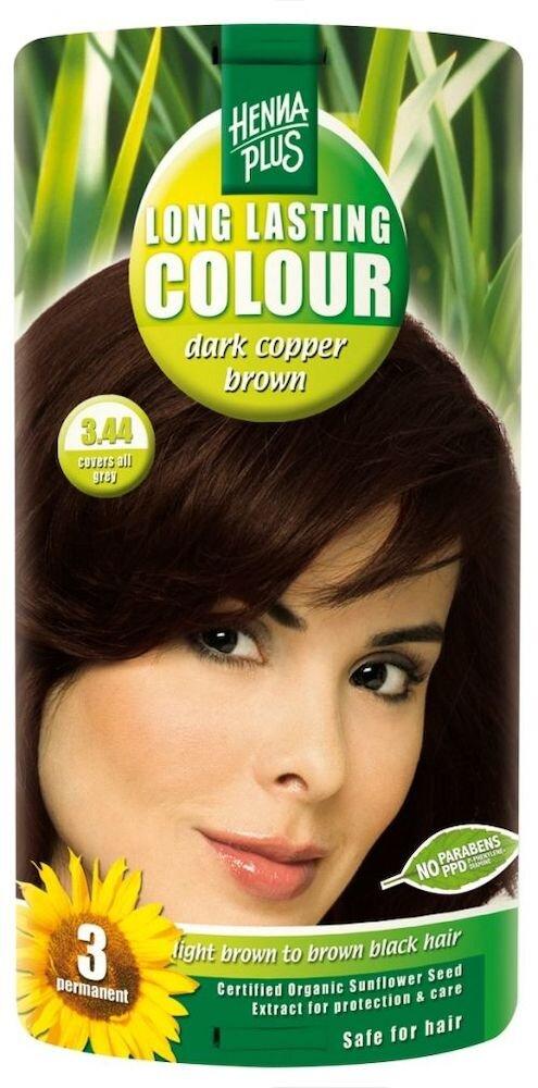 Vopsea par, Long Lasting Colour, Dark Cooper Brown 3.44