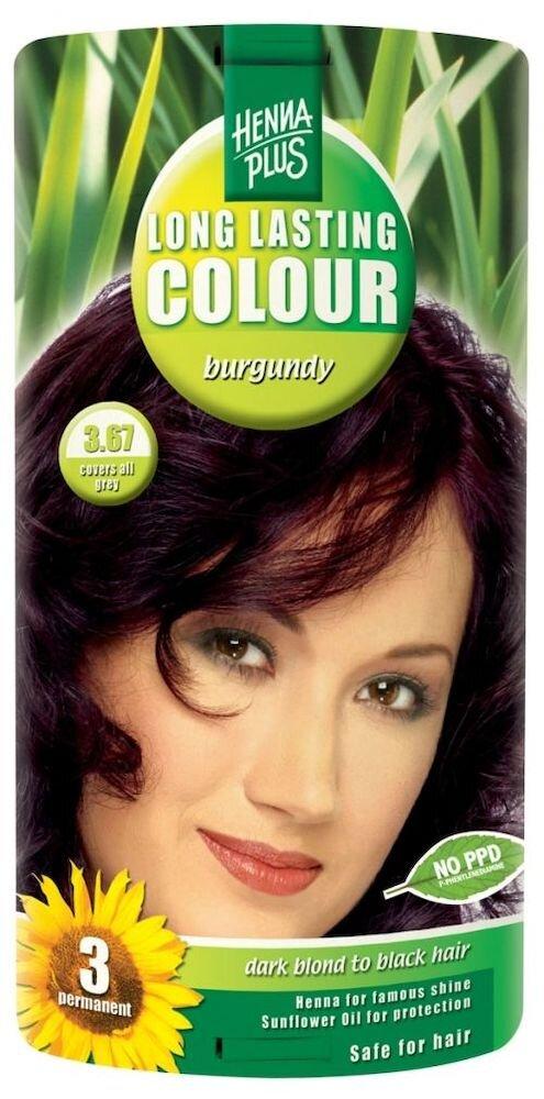 Vopsea par, Long Lasting Colour, Burgundy 3.67
