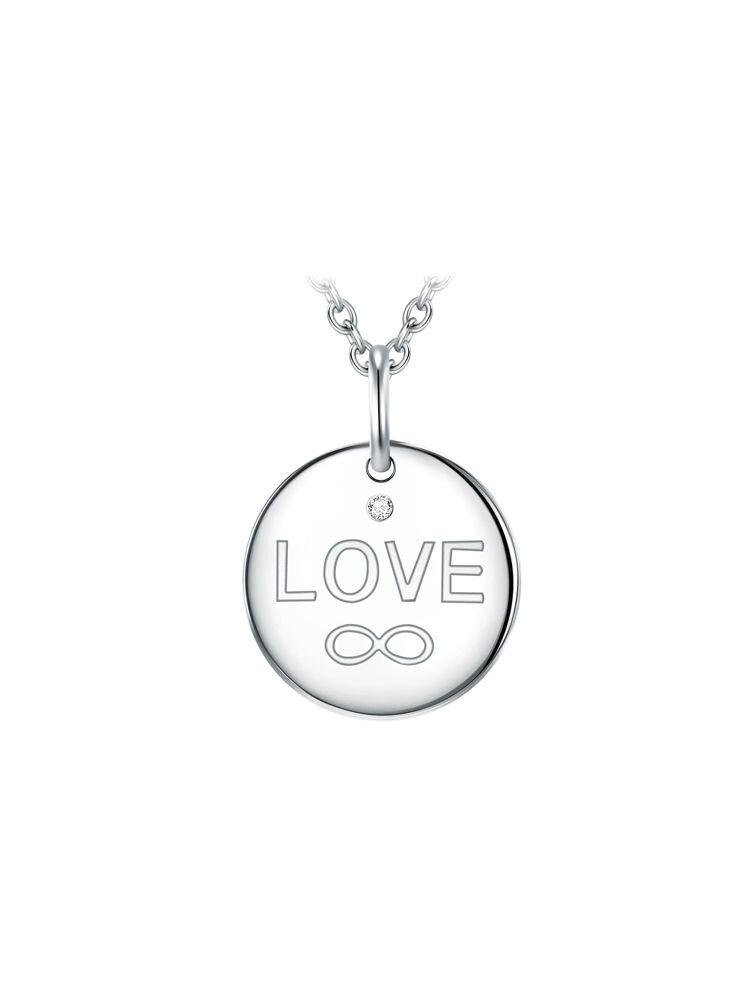 Colier din argint Velvet Diamonds 60360236-45
