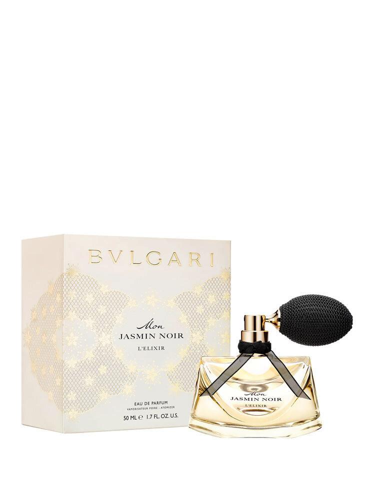 Apa de parfum Bvlgari Mon Jasmin Noir L'elixir, 50 ml, Pentru Femei