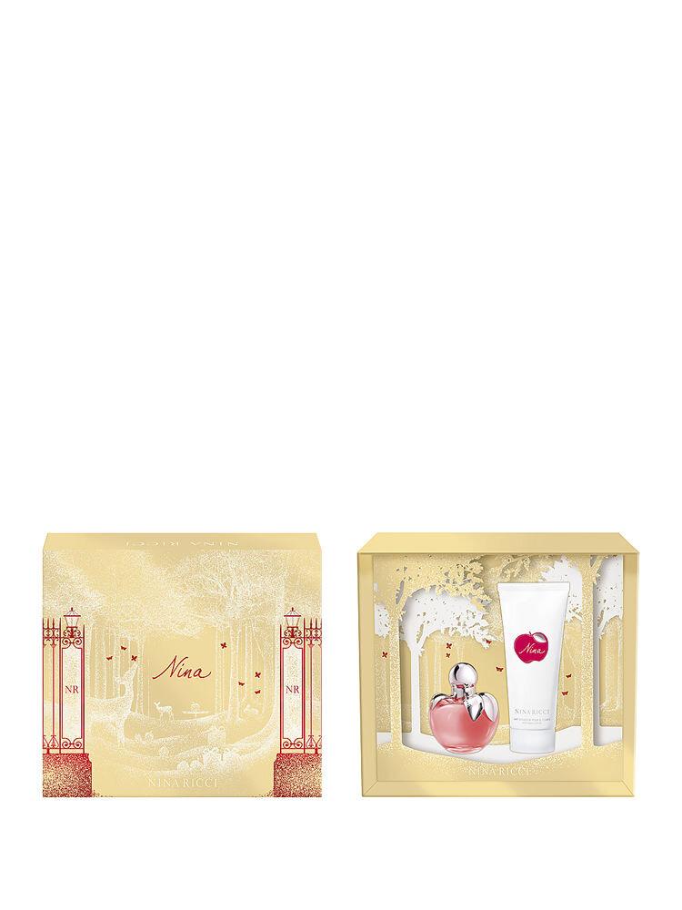 Set cadou Nina (Apa de Toaleta 50 ml + Lotiune de corp 100 ml), Pentru Femei