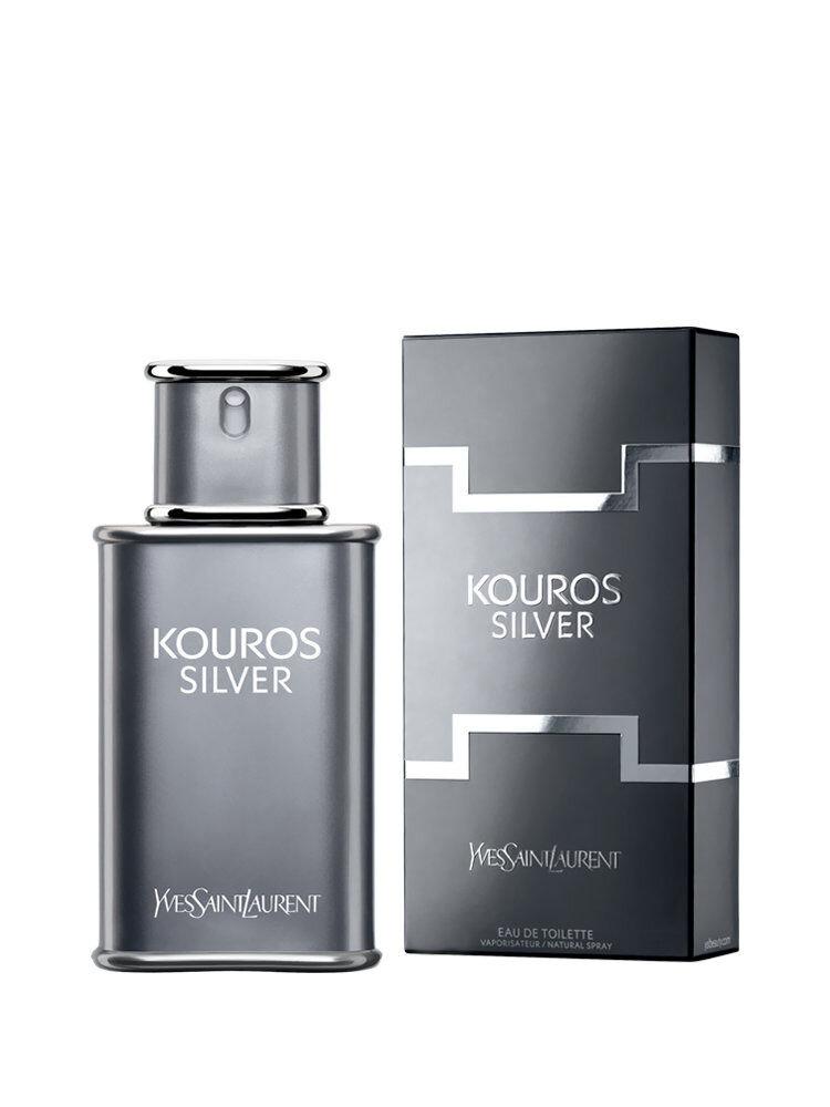 Apa de toaleta Kouros Silver, 50 ml, Pentru Barbati