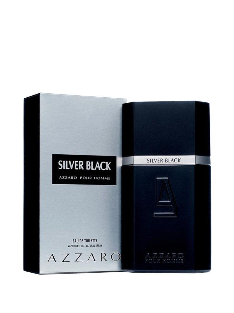 Apa de toaleta Azzaro Silver Black, 100 ml, Pentru Barbati