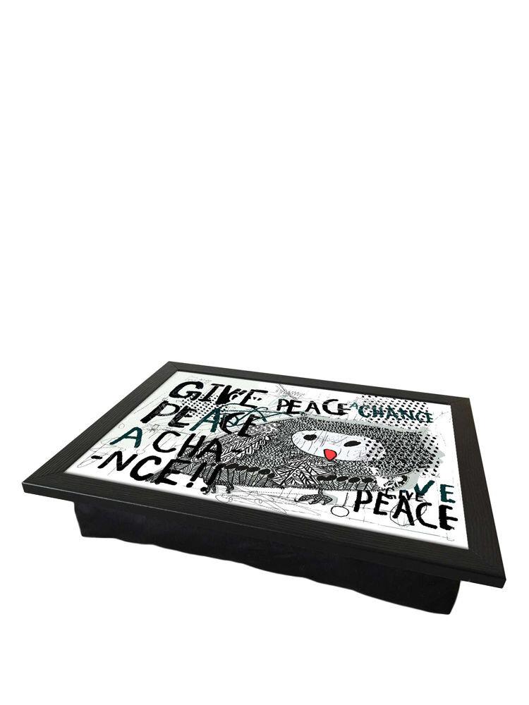 Tava cu perna, pentru servire - Peace, 36 x 46 cm