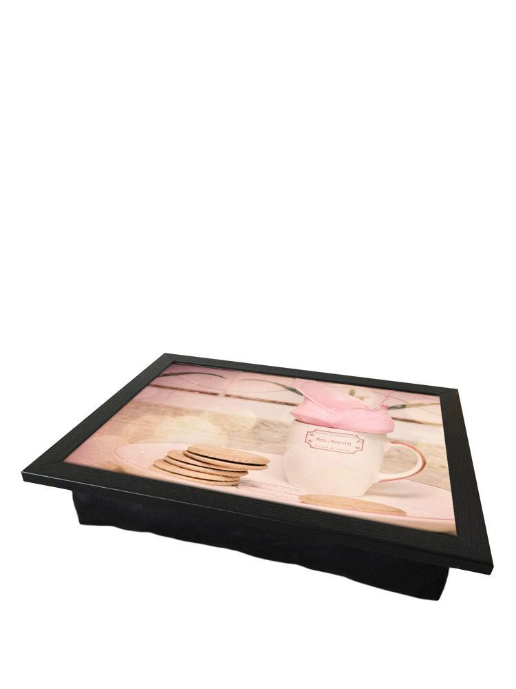 Tava cu perna, pentru servire - Tea time, 36 x 46 cm