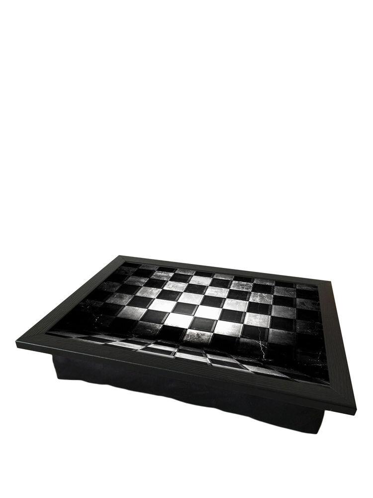 Tava cu perna, pentru servire - Chess, 36 x 46 cm