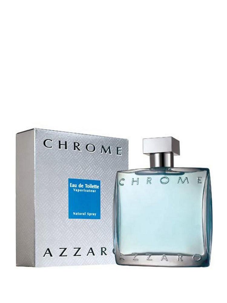 Apa de toaleta Azzaro Chrome, 100 ml, Pentru Barbati