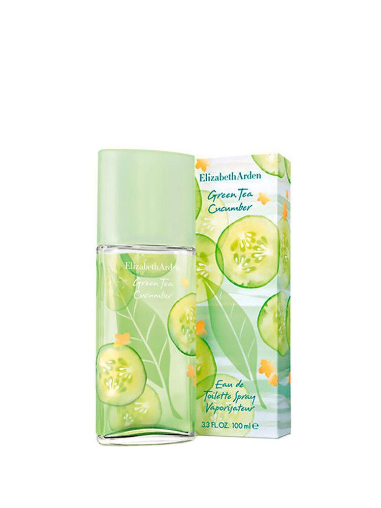 Apa de toaleta Green Tea Cucumber, 100 ml, Pentru Femei