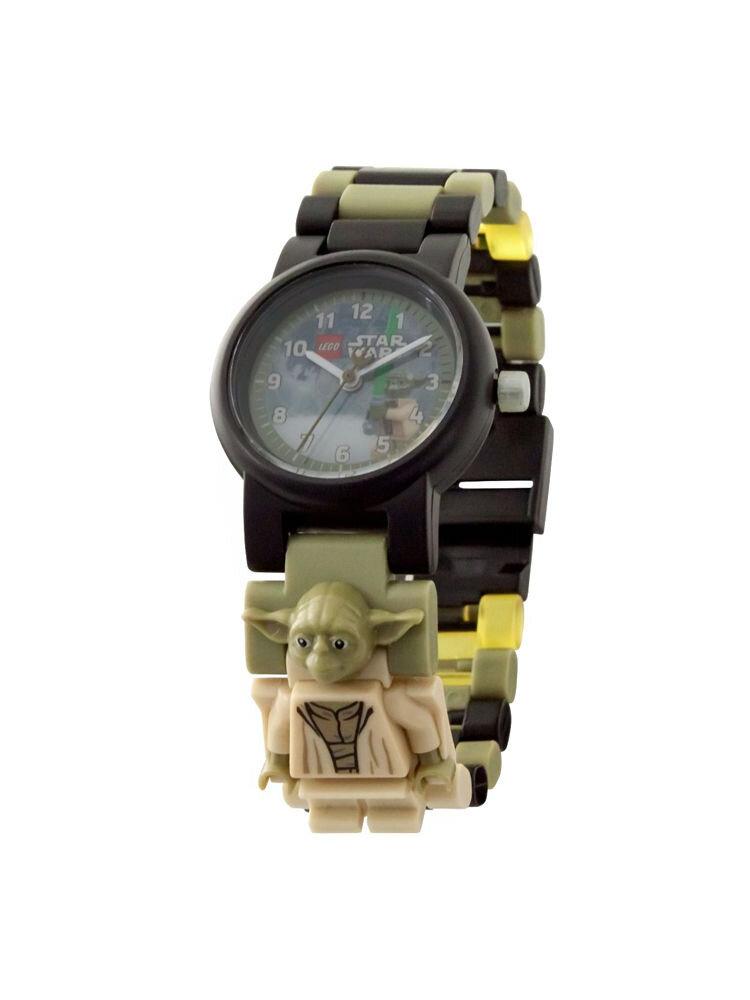 Ceas LEGO Star Wars Yoda cu minifigurina