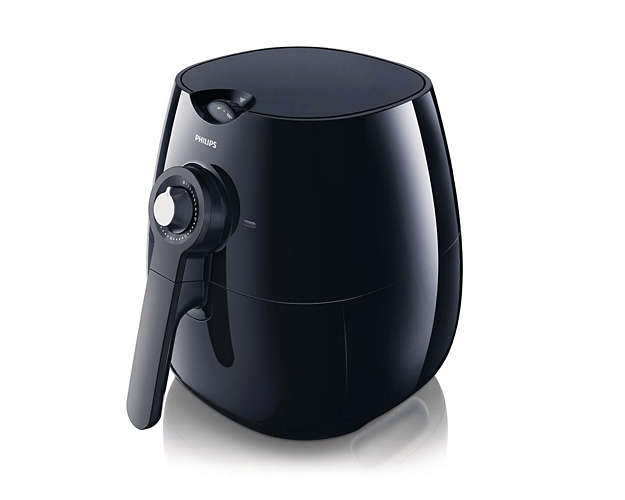 Friteuza PHILIPS Viva Collection Airfryer HD9220/20, 0.8kg, negru