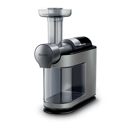Storcator de fructe si legume cu melc Philips Avance Collection HR1897/30, 200 W, Recipient pulpa 1 l