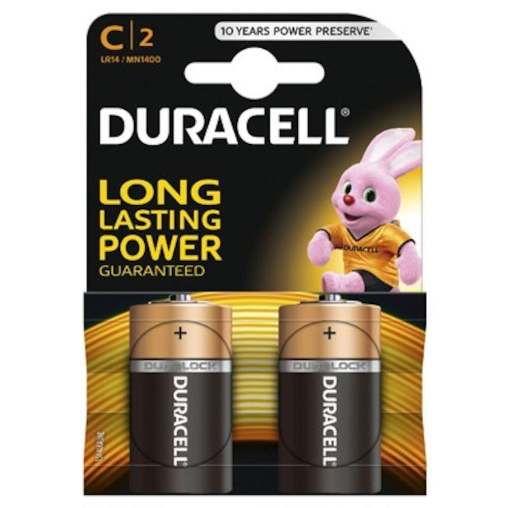 Baterie Duracell Basic C LR14 2buc