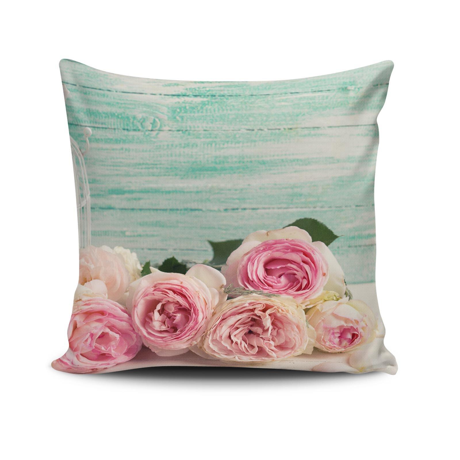 Perna decorativa Cushion Love, Dimensiune: 45 x 45 cm, Material exterior: 50% bumbac / 50% poliester 768CLV0131