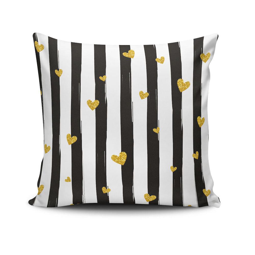 Perna decorativa Cushion Love, Dimensiune: 45 x 45 cm, Material exterior: 50% bumbac / 50% poliester 768CLV0193