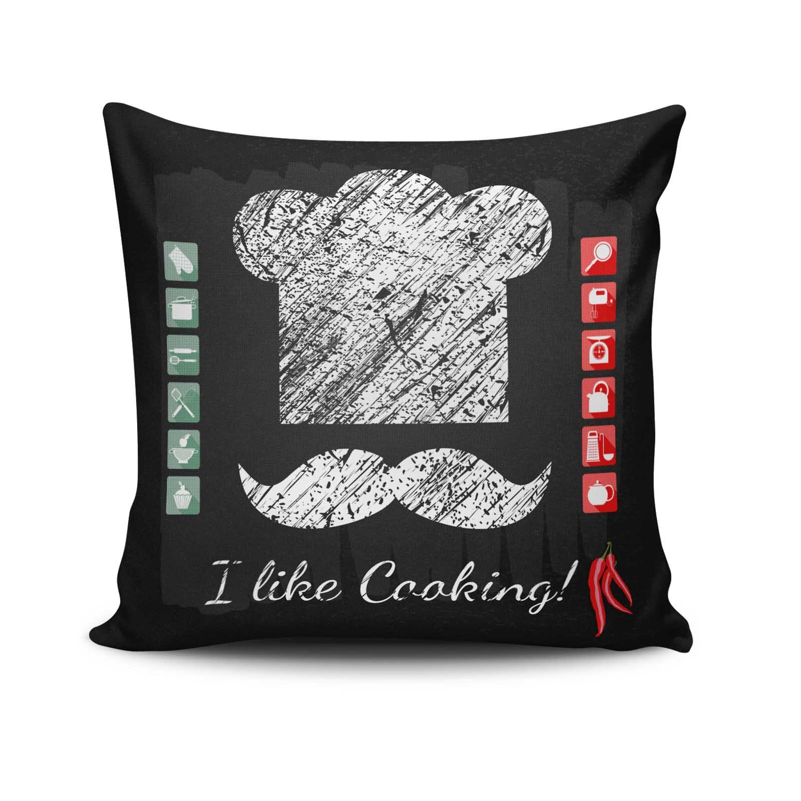 Perna decorativa Cushion Love, Dimensiune: 45 x 45 cm, Material exterior: 50% bumbac / 50% poliester 768CLV0205
