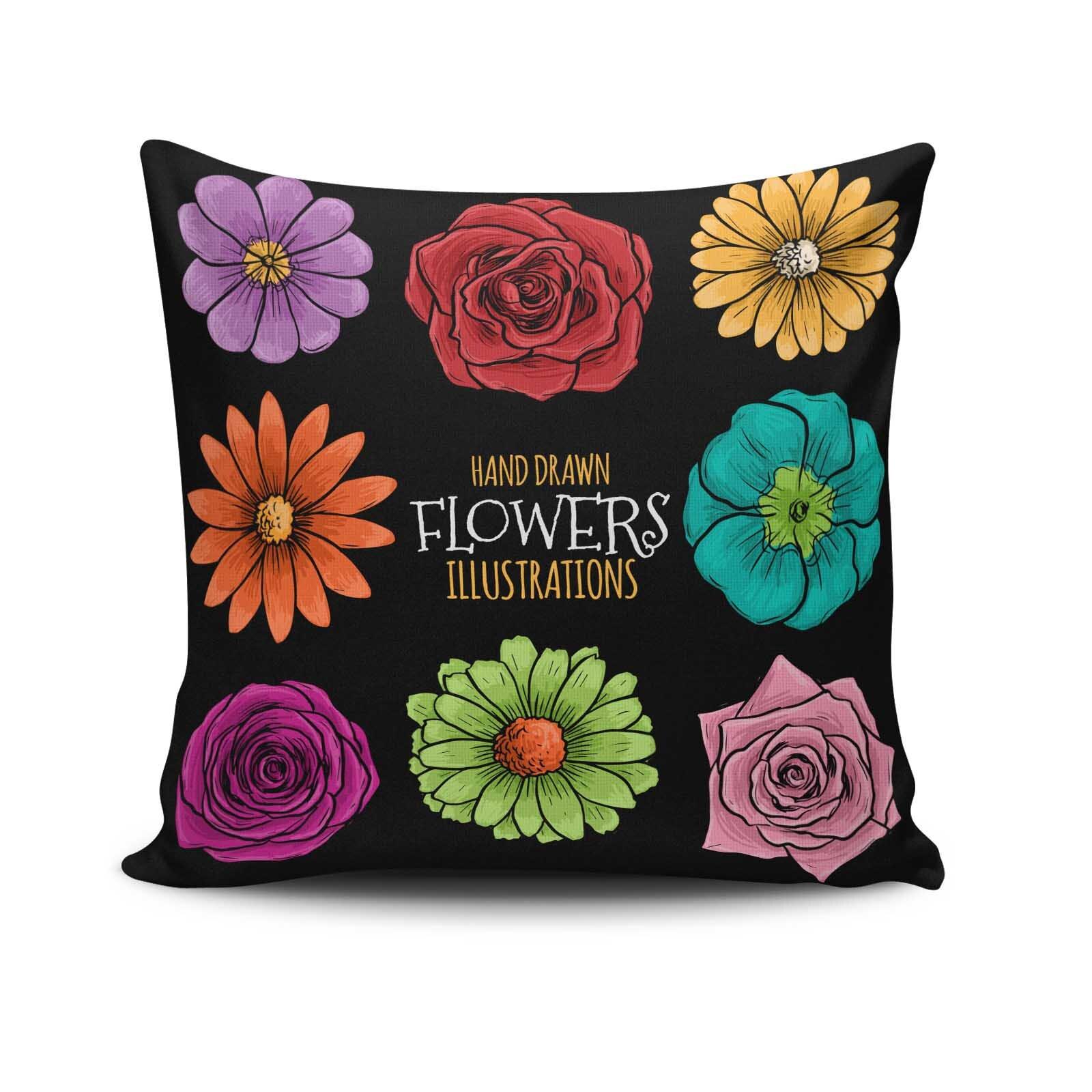 Perna decorativa Cushion Love, Dimensiune: 45 x 45 cm, Material exterior: 50% bumbac / 50% poliester 768CLV0216