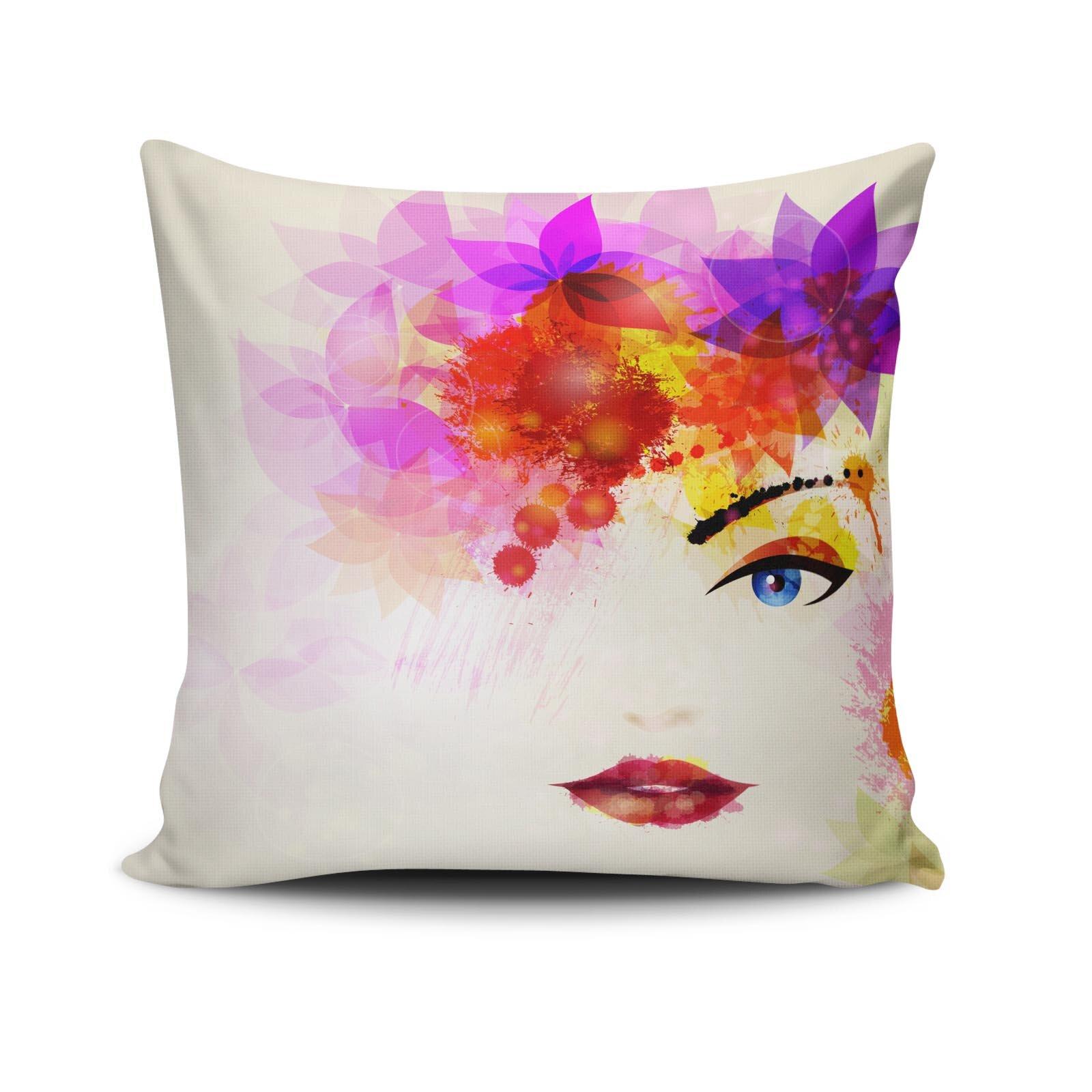 Perna decorativa Cushion Love, Dimensiune: 45 x 45 cm, Material exterior: 50% bumbac / 50% poliester 768CLV0227