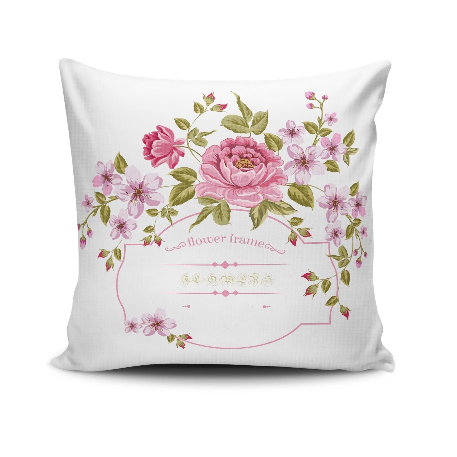 Perna decorativa Cushion Love, Dimensiune: 45 x 45 cm, Material exterior: 50% bumbac / 50% poliester 768CLV0228