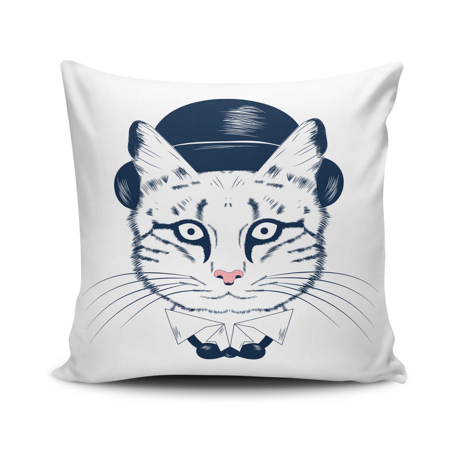 Perna decorativa Cushion Love, Dimensiune: 45 x 45 cm, Material exterior: 50% bumbac / 50% poliester 768CLV0302