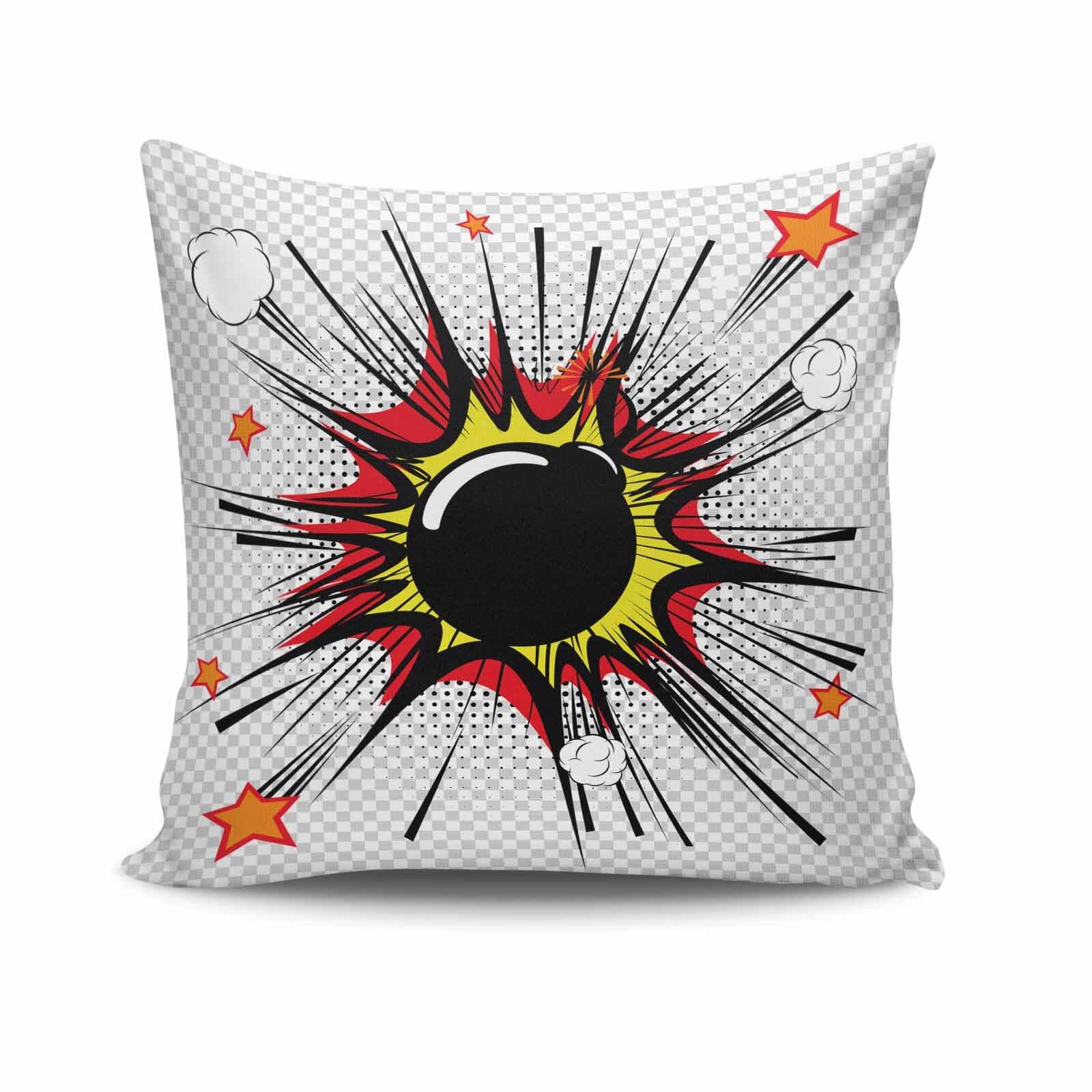 Perna decorativa Kissy, Dimensiune: 45 x 45 cm, Material exterior: 50% bumbac / 50% poliester 422KSY0155