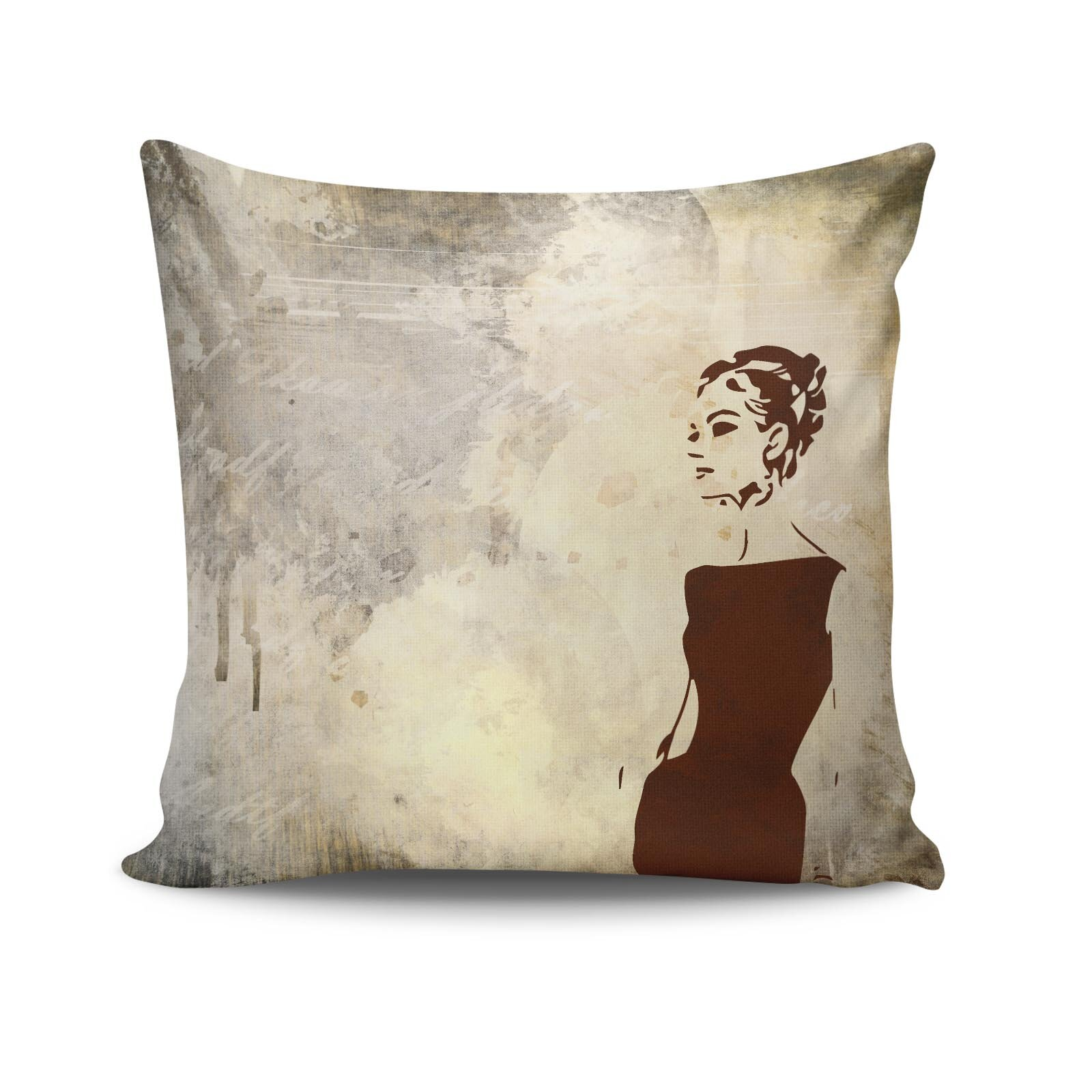 Perna decorativa Kissy, Dimensiune: 45 x 45 cm, Material exterior: 50% bumbac / 50% poliester 422KSY2110