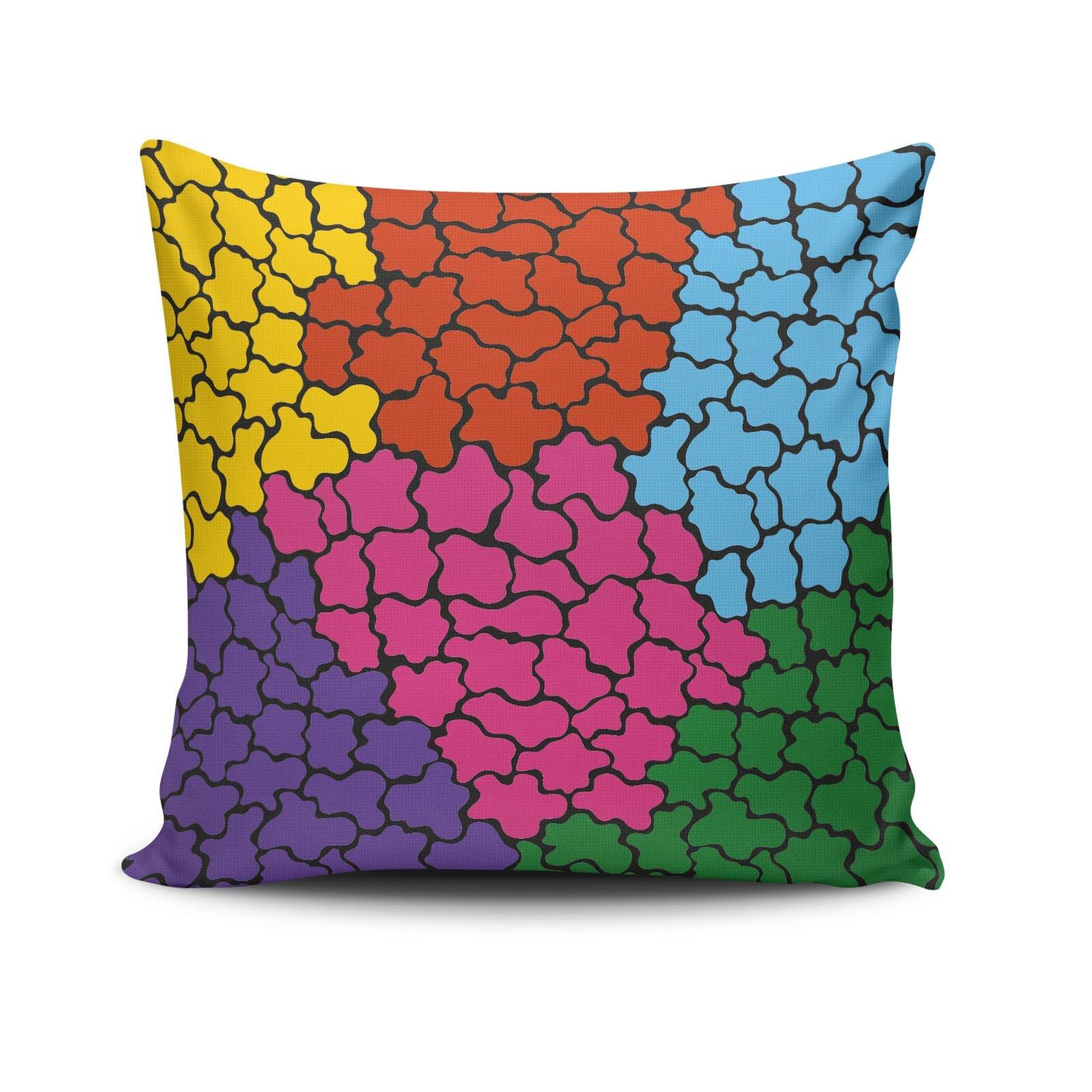 Fata de perna Cushion Love, dimensiune 45 x 45 cm, Material: 50% Bumbac / 50% Poliester