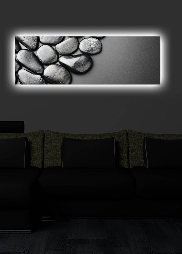 Tablou decorativ canvas cu leduriShining title=Tablou decorativ canvas cu leduriShining