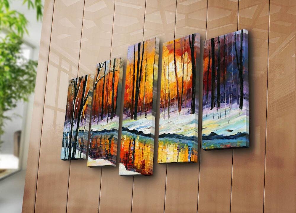 Tablou decorativ canvas (5 Piese)Bonanza