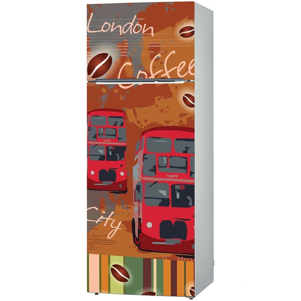Sticker decorativ pentru frigider Fun in Kitchen, 748FUK1487