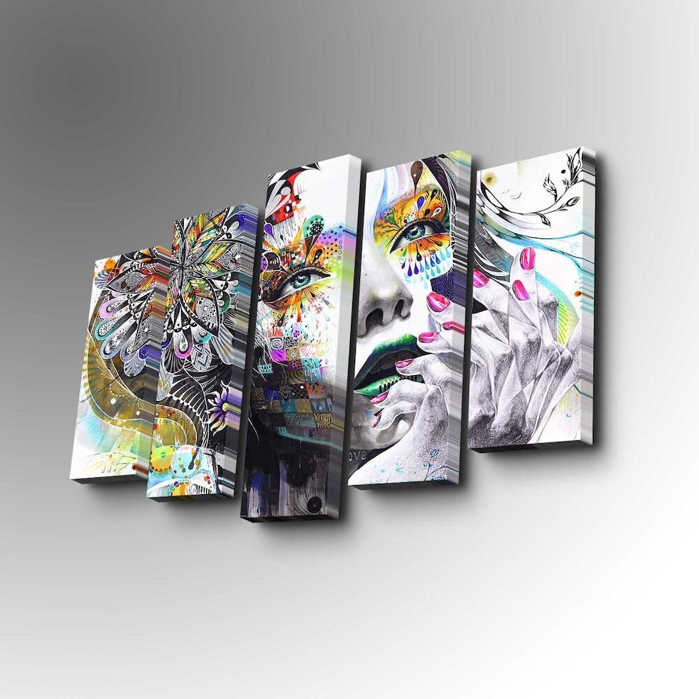 Tablou decorativ canvas (5 Piese)Art Five title=Tablou decorativ canvas (5 Piese)Art Five